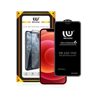 2020 WeAddu Brand For iPhone 12 11 pro Max Xs max X Xr 8 7 6 Plus Se 2020 Tempered Glass Screen Protector For Apple 12 Pro Max