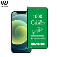 100D Ceramic Screen Protector for iphone 12 iphone12 pro max mini soft TPU screen protector