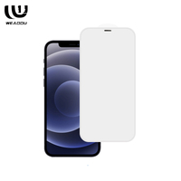 High Quality Full screen without black border with Dust net Tempered Glass Screen Protector for iphone series