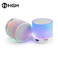 USB Music Mini Led Light Wireless Bluetooth Speaker With Fm Radio