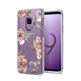 Floral TPU Transparency Phone Case for SAMSUNG S9