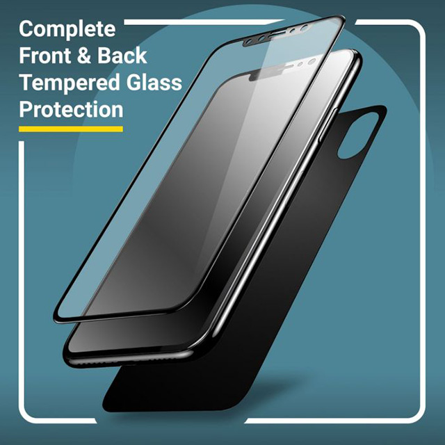 Iphone X/XS/XR/XS MAX Screen And Back Glass Protector