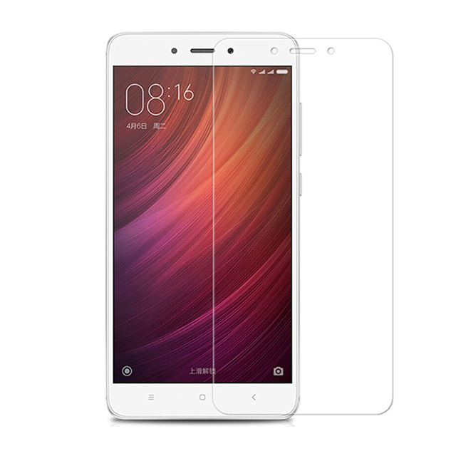 2.5D 0.2mm 9h cell phone tempered glass screen protector for Xiaomi redmi note 4