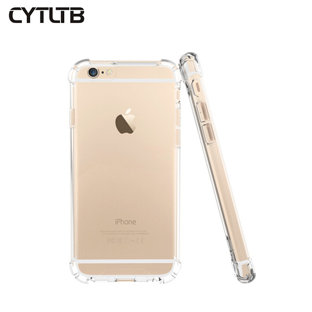 For iPhone7/7+/8/8+ High Clear Gel Transparency Anti fall Cover Case