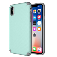 TPU PC Anti Shock Phone Case For Iphone X 8 7 6
