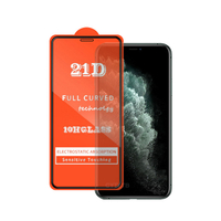 21D 10H glass For iphone11 pro Tempered Glass Screen Protector